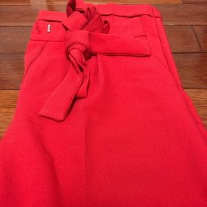 ASOS Red Dress Pants